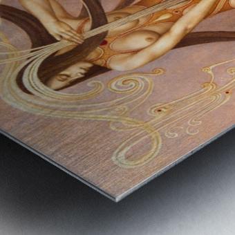 MYSTERIUM Metal print