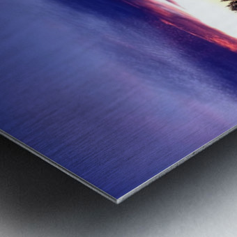 nube 48 Metal print