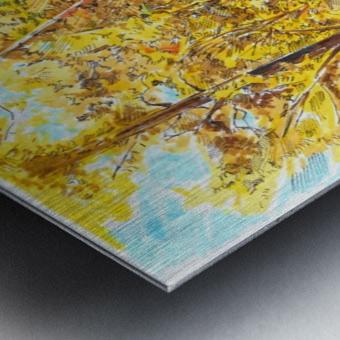 Autumn_Blues Metal print