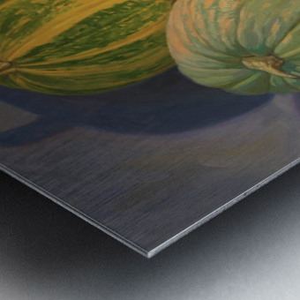 Pumpkins_And_Apples Metal print