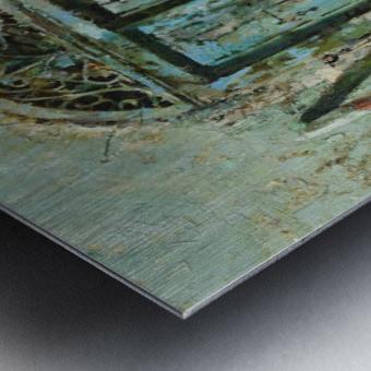 Venetian_Door Metal print