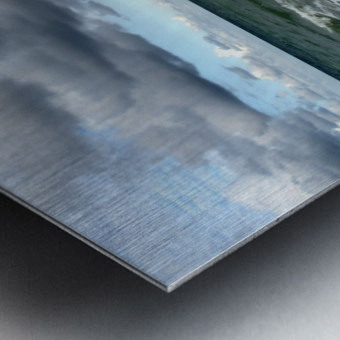 A sense of freedom by the beach Metal print