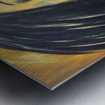 L Extase Metal print
