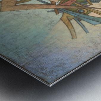 Abduction Metal print