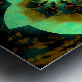 Digital_Vegetation Metal print