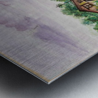 Way to Goa_DKS Metal print