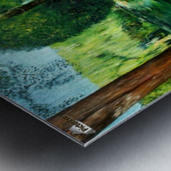 Arboretum shades Metal print