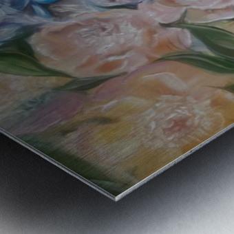 Flowers. Miracle. Metal print