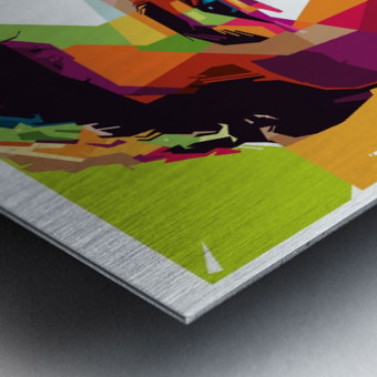 Roberto firmino Metal print