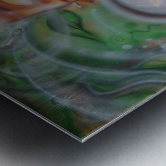 Amulet for love Metal print
