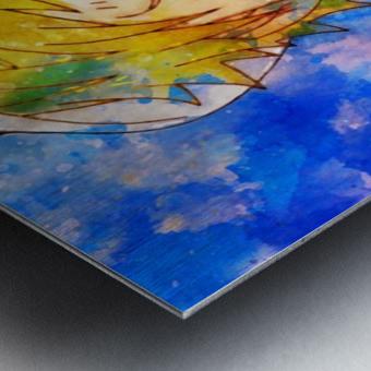Sanji Metal print