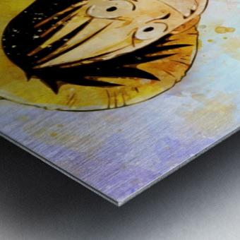 Luffy Metal print