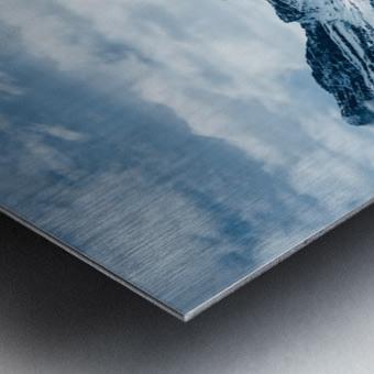 Icy Roads Metal print