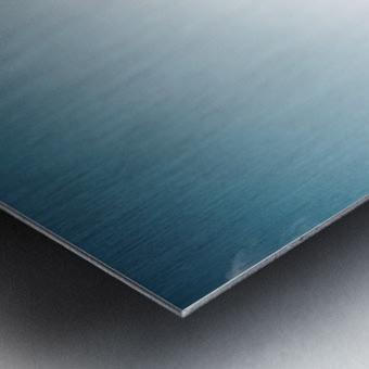 Blue Morning Metal print