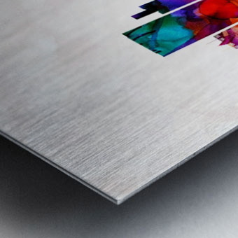 Dusseldorf Skyline Metal print