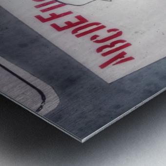 Urban English Metal print