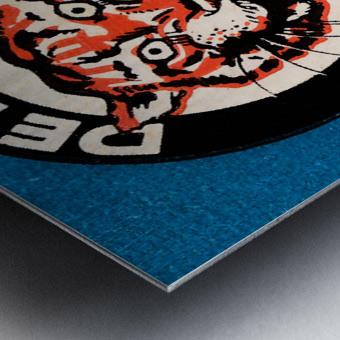 1963 Detroit Tigers Art  Metal print