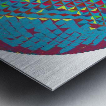 geometrical Metal print