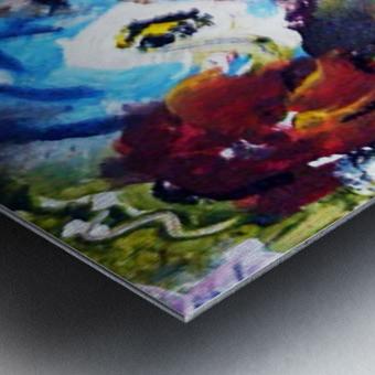 Primary Blue1 Metal print