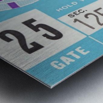1959_College_Football_Northwestern vs. Indiana_Dyche Stadium_Row One Brand Tickets Metal print