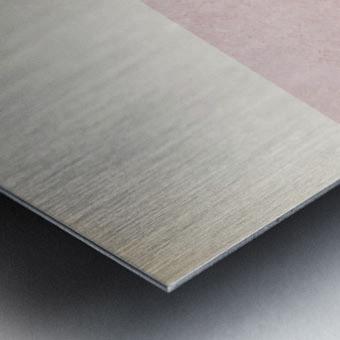 Shapes 06 - Abstract Geometric Art Print Metal print