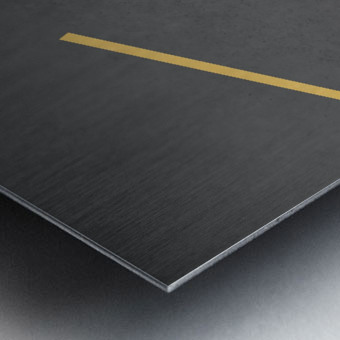 Shapes 03 - Abstract Geometric Art Print Metal print