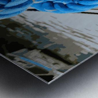 Tye the Knot Metal print