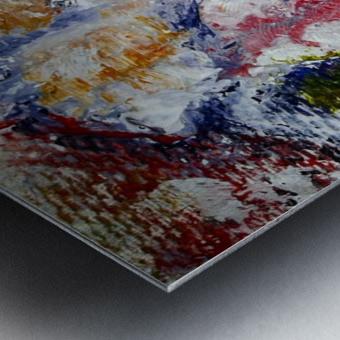 Vibrant Metal print
