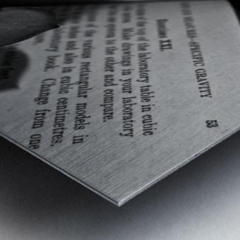Box Me In Metal print