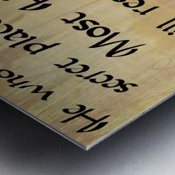 Secret Place Metal print