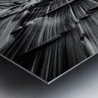B&W Zebra Slot Canyon II Metal print