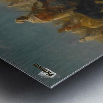 Der Fahnentrager Metal print