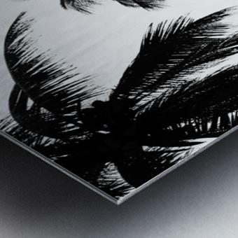 Ipanema B&W Metal print
