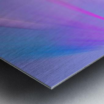 Purple Comet Metal print
