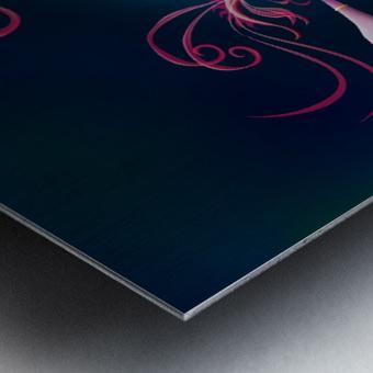 Aragosta Rosa Metal print