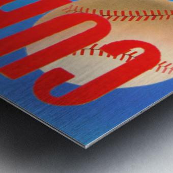 Cubs Art Metal print