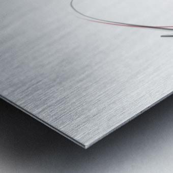 LENNON Metal print
