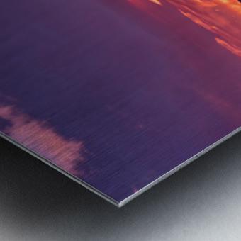Bow River Sunrise East Metal print