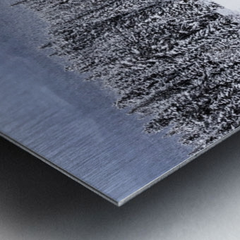 Morants Curve  Banff National Park Metal print