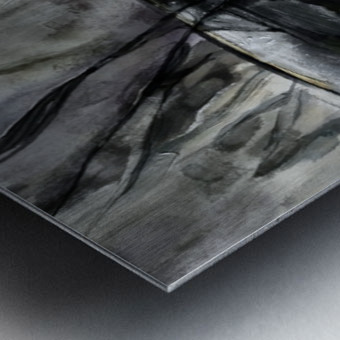 ESPACIOS TRUNCADOS Metal print