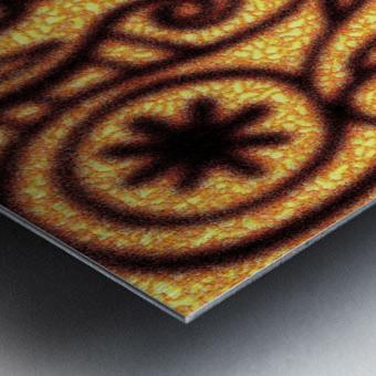 background pattern Metal print