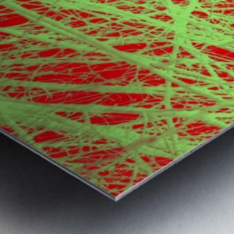Tree-Line Drawing Metal print