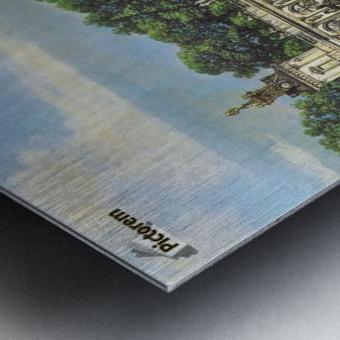 View of Palace in Warszawa Metal print