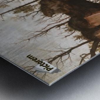 The Dawn of Civilization Metal print