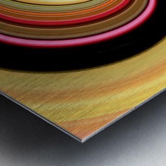 DISTORSION 3 Metal print
