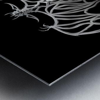 Drakulax Volkanun Metal print
