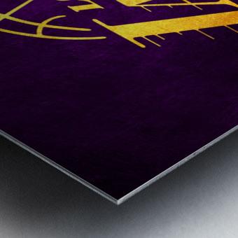 Lakers Metal print