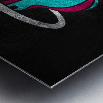 Miami Heat Vice 2 Metal print