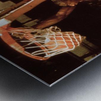 1985 Michael Jordan Dunk Metal print