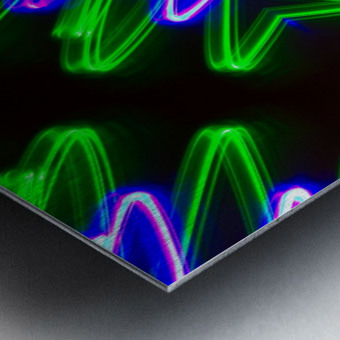Neon Lights  Metal print